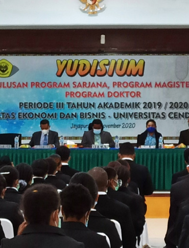 YUDISIUM PERIODE III FEB UNCEN